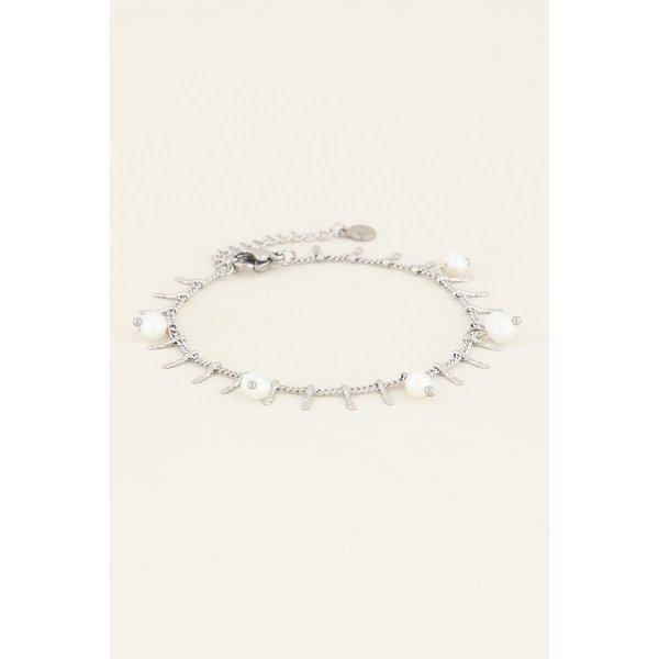 My Jewellery My Jewellery Armbandje staafjes & parels