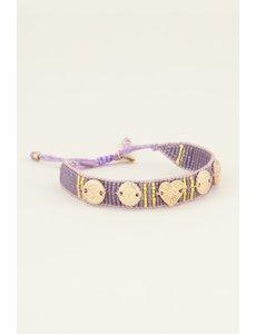 My Jewellery My Jewellery Lila armband bedels & kraaltjes