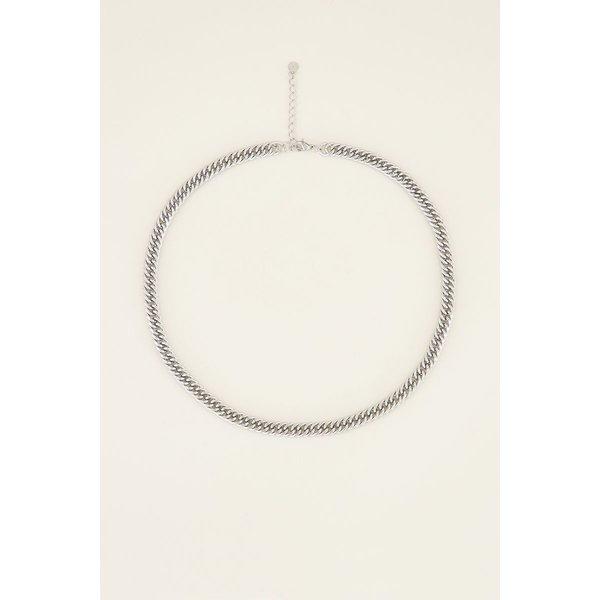 My Jewellery My Jewellery Ketting brede schakels (maat M)
