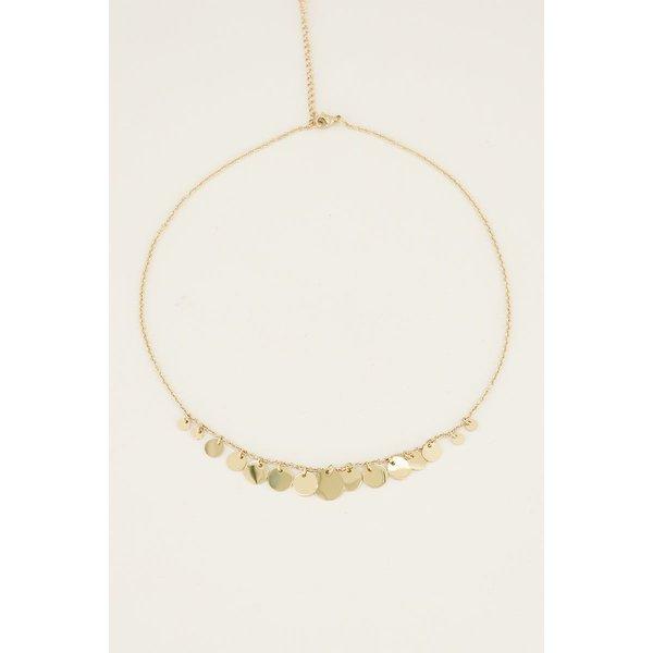 My Jewellery My Jewellery Ketting kleine & grote muntjes