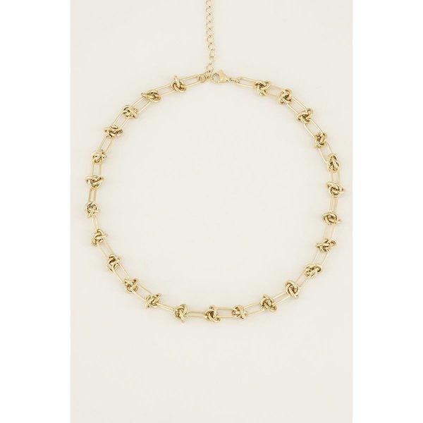 My Jewellery My Jewellery Ketting met knoopjes