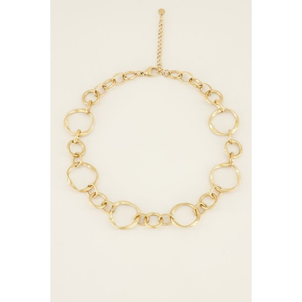 My Jewellery My Jewellery Ketting open rondjes