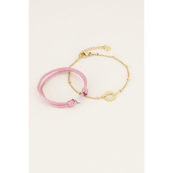 My Jewellery My Jewellery Moeder & dochter armband mini