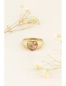 My Jewellery My Jewellery Ring wildflower hartje