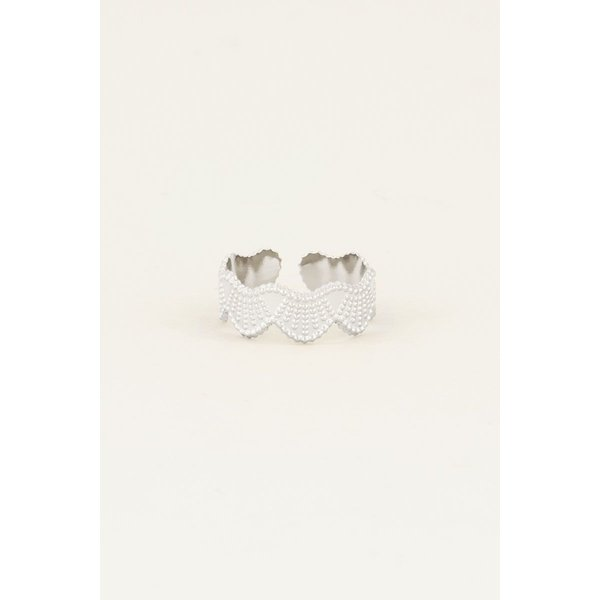 My Jewellery My Jewellery Ring met bubbels