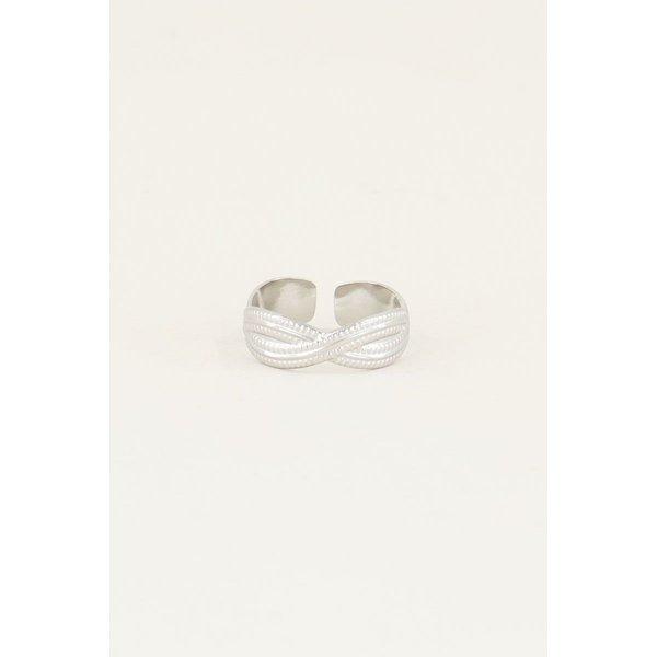 My Jewellery My Jewellery Ring gevlochten