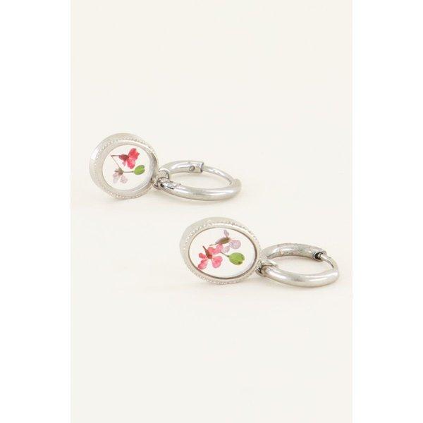 My Jewellery My Jewellery Oorringen wildflower ovaal