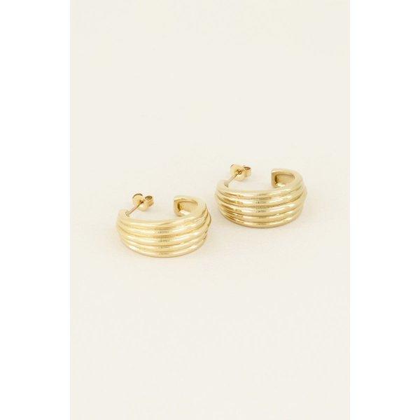 My Jewellery My Jewellery Oorringen reliëf