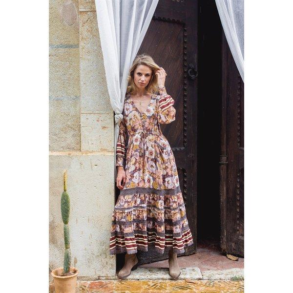 Jaase Jaase - Maxi jurk Alba Lela