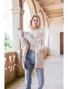 Jaase Jaase - Bianca Vest met franjes
