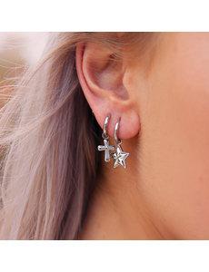 My Jewellery My Jewellery Oorringen kruisje