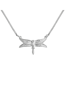Happy Hippies Happy Hippies ketting Dragonfly sterling zilver