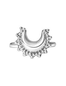Happy Hippies Happy Hippies Ring moon sterling zilver