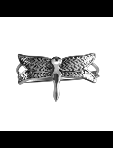 Happy Hippies Happy hippies Ring Dragonfly sterling zilver