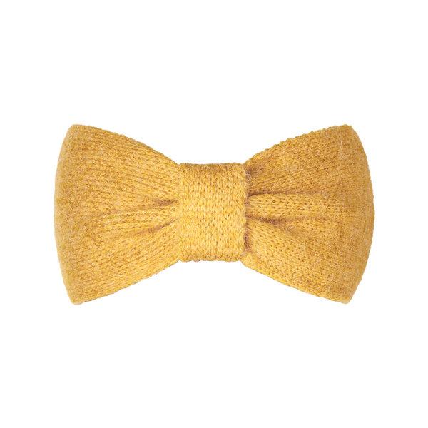 Haarband Cozy bow oker geel