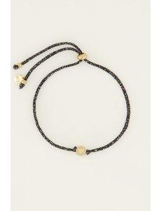 My Jewellery My Jewellery Touw Armband Hartje