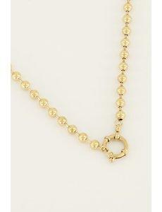 My Jewellery My Jewellery Ketting bolletjes met ronde sluiting