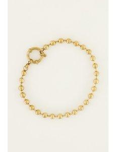 My Jewellery My Jewellery Armband bolletjes met ronde sluiting