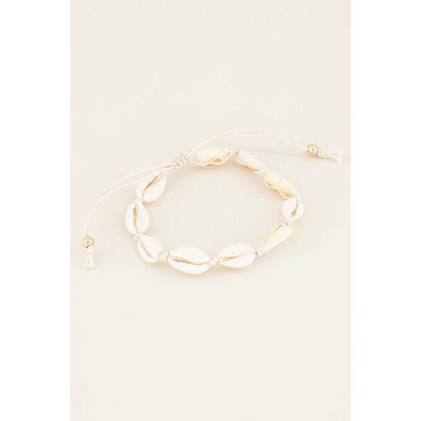 My Jewellery Armband/enkelbandje schelpen