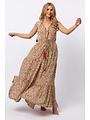 Gold & Silver - Lange jurk Lottie Beige