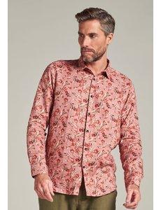Dstrezzed Dstrezzed - Linnen blouse met kleine bloemenprint oud roze