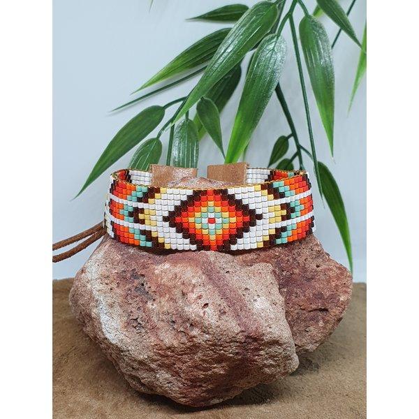 PerlasLindas Handgemaakte armband  Navajo Miyuki 11