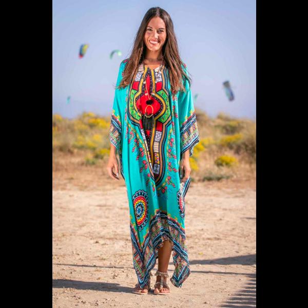 Tarifa Soul Tarifa Soul - Kaftan Mikonos turquoise