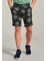 Dstrezzed Dstrezzed - Korte broek Charlie Camo flower Linnen donker Navy