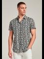 Dstrezzed Dstrezzed - Korte mouw blouse Rose Voile dk navy