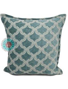 Esperanza Deseo Kussen Vintage mint - Brocant ornament 45x45cm