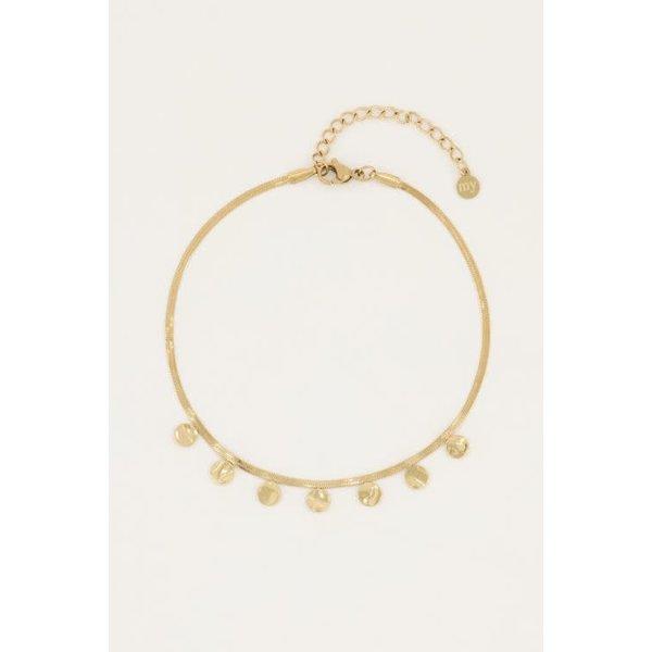 My Jewellery My Jewellery - Enkelbandje munten