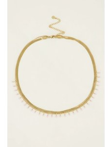 My Jewellery My Jewellery - Ketting dubbel roze