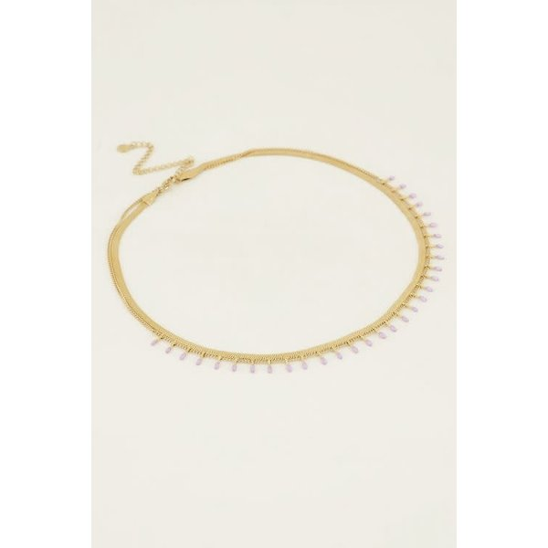 My Jewellery My Jewellery - Ketting dubbel lila