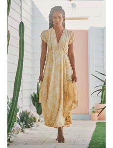 Jaase Jaase - Lange jurk Tigris Champagne