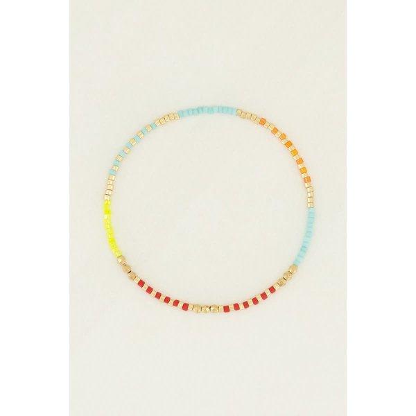 My Jewellery My Jewellery - Kralen armband rood