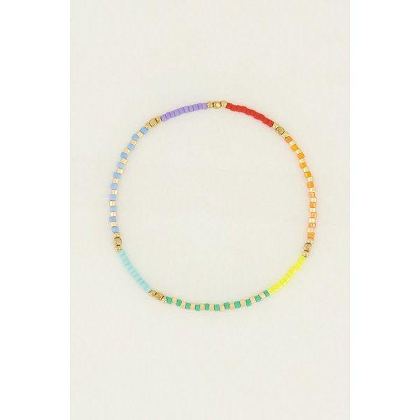 My Jewellery My Jewellery - Kralen armband groen