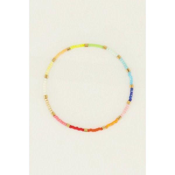 My Jewellery My Jewellery - Kralen armband blauw