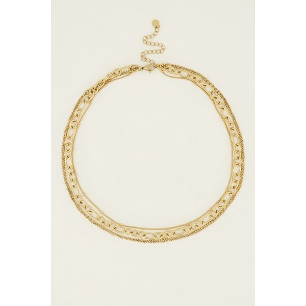 My Jewellery My Jewellery - Ketting drielaags bolletjes