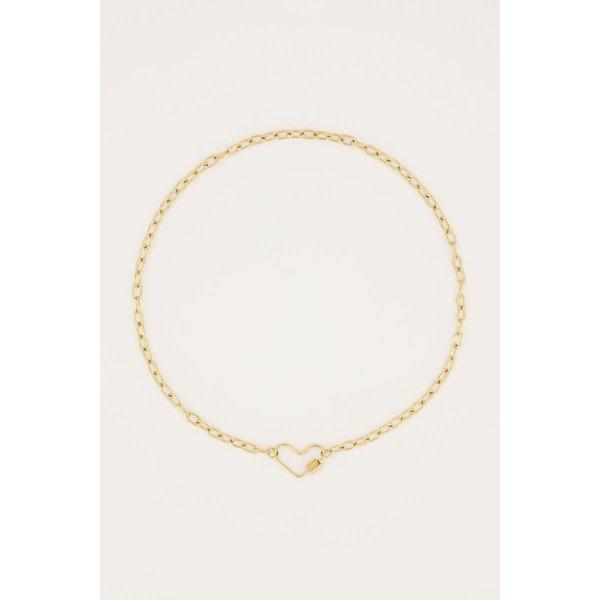 My Jewellery My Jewellery - Ketting moments hart