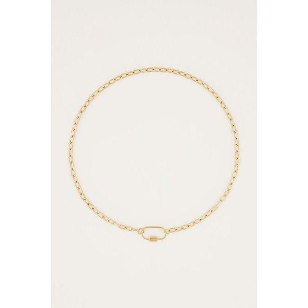 My Jewellery My Jewellery - Ketting moments ovaal