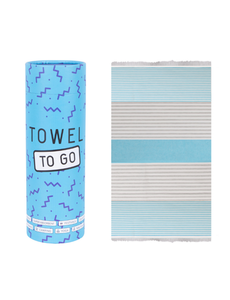 Towel to go Towel to Go Bali turquoise/blauw