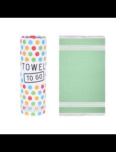 Towel to go Towel to Go Oasis groen met geschenk box