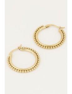 My Jewellery My Jewellery - Oorringen groot bolletjes
