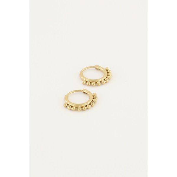 My Jewellery My Jewellery - Oorringen kleine bolletjes
