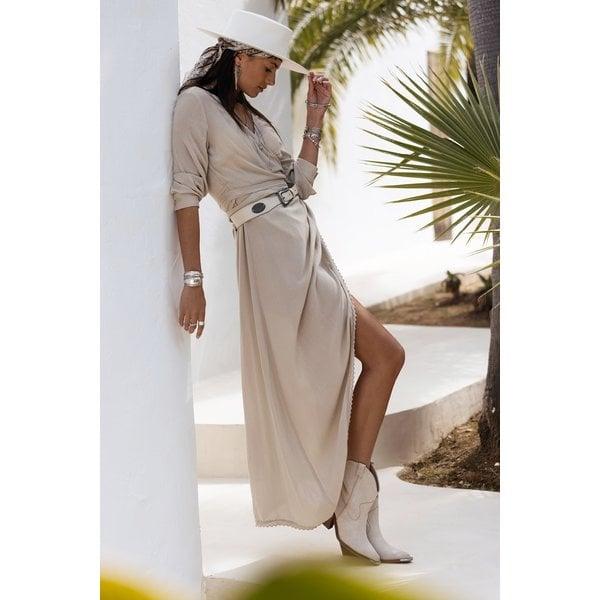 MOOST Wanted MOOST Wanted - Joie Dress Beige