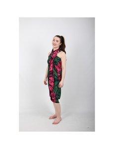 Uit den Vreemde Sarong Green pink pattern