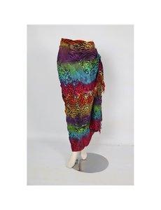 Uit den Vreemde Sarong Multicolor Animalprint