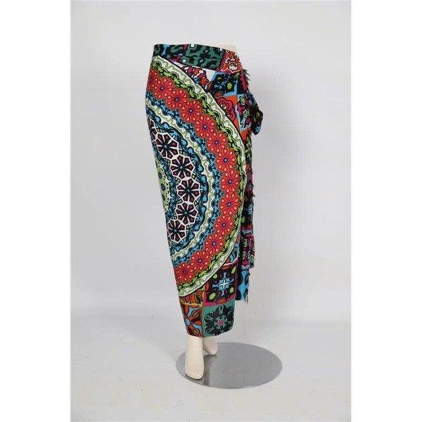 Uit den Vreemde Sarong Multicolor pattern