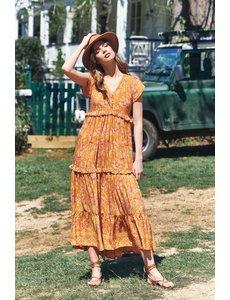 Jaase Jaase - Maxi jurk Saffron Ina