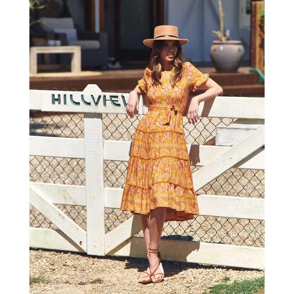 Jaase Jaase - Midi jurk Saffron Joselyn